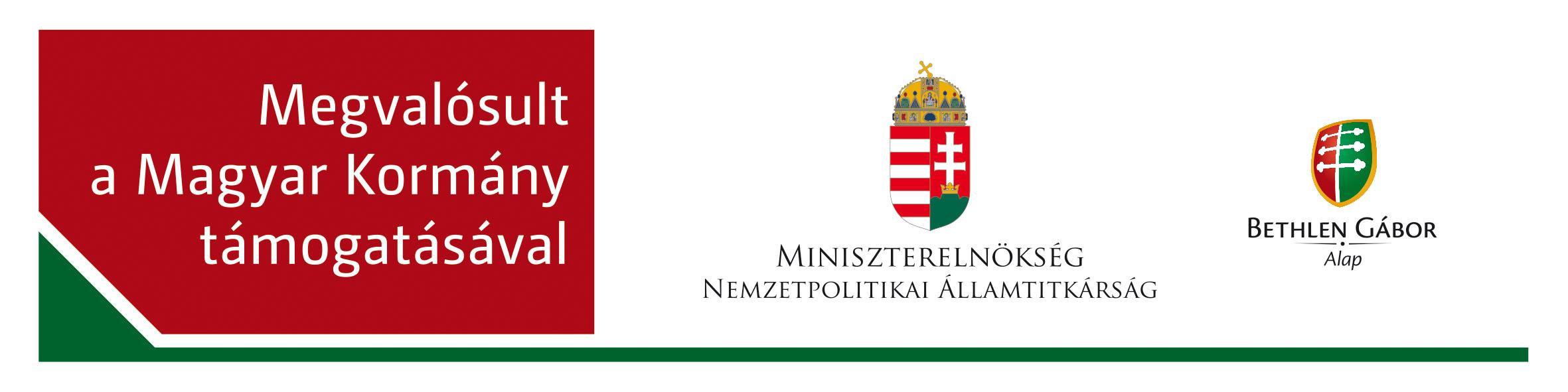 Magyar Kormány támogatásával - Bethlen Alap